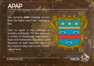 The APAP coat of arms