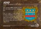 The APAP coat of arms