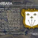 The BARBARA coat of arms