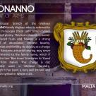 The BONANNO coat of arms