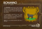 The BONANNO coat of arms