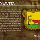 The BONAVITA coat of arms