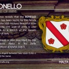 The BONELLO coat of arms