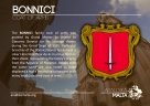 The BONNICI coat of arms