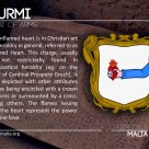 The CURMI coat of arms