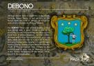The DEBONO coat of arms