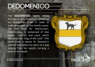 The DEDOMENICO coat of arms