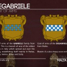 The DEGABRIELE coat of arms