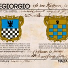 The DEGIORGIO coat of arms
