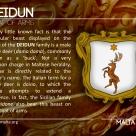 The DEIDUN coat of arms