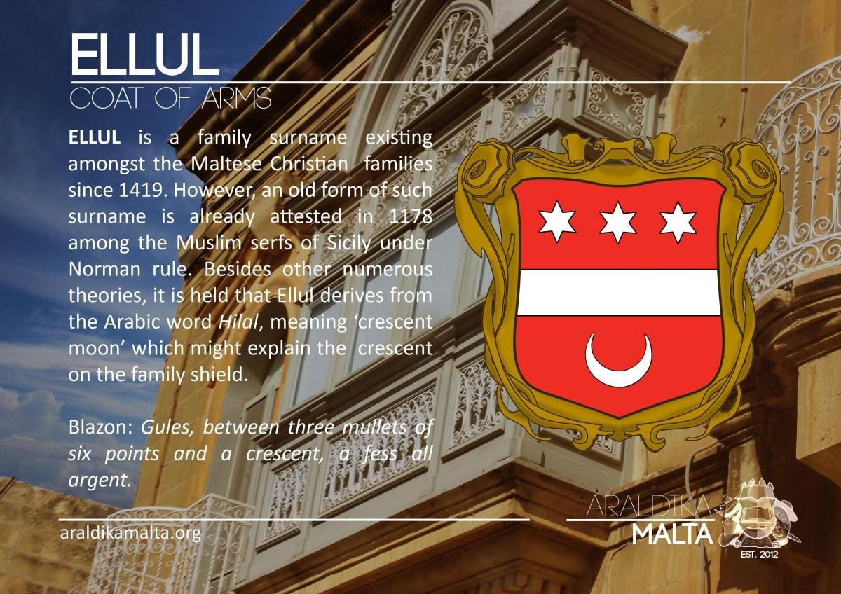 Ellul | Araldika Malta