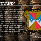 The FRIGGIERI coat of arms