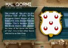 The HAL QORMI coat of arms