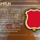 The HAMRUN coat of arms