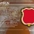 The HAMRUN coat of arms