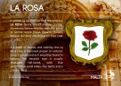 The LA ROSA coat of arms