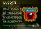 The LA CORTE coat of arms