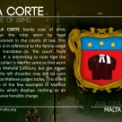 The LA CORTE coat of arms