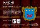 The MANCHE' coat of arms