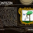 The MONTEZIN coat of arms