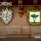 The MORONI coat of arms