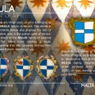 The MULA coat of arms