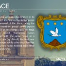 The PACE coat of arms