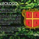 The PALEOLOGO coat of arms