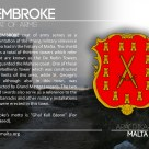 The PEMBROKE coat of arms