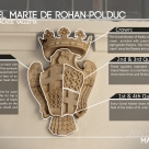 The DE ROHAN coat of arms