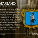 The SATARIANO coat of arms