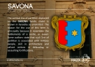 The SAVONA coat of arms