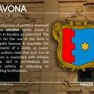 The SAVONA coat of arms