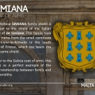The SIMIANA coat of arms