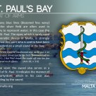 The ST. PAUL'S BAY coat of arms