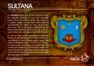 The SULTANA coat of arms