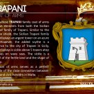 The TRAPANI coat of arms