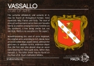 The VASSALLO coat of arms