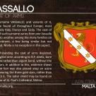 The VASSALLO coat of arms