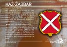 The HAZ-ZABBAR coat of arms