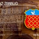 The HAZ-ZEBBUG coat of arms