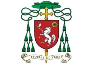 Coat of arms of Bishop Charles Scicluna